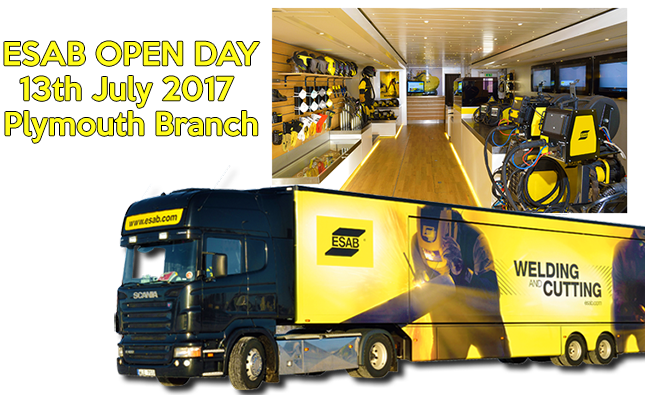 ESAB Open Day 13th July in Plymouth