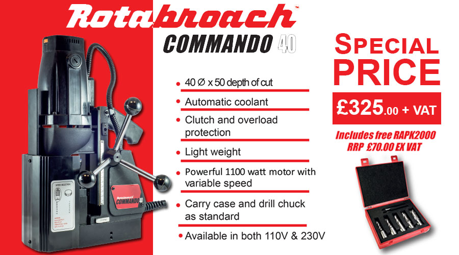Rotabroach Commando 40
