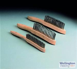 Wire Brush 3 Row Mild Steel