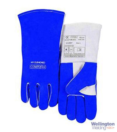 Weldas Blue Comfoflex Welding Gauntlet