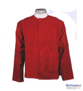 Leather Jacket Red Kevlar M
