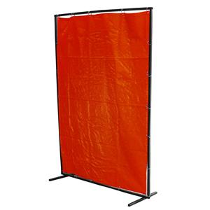 Amber 6x8 Foot Welding Curtain