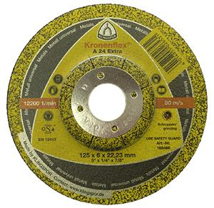 "Cutting Disc 7"" x 2.5mm Depressed Centre Steel"