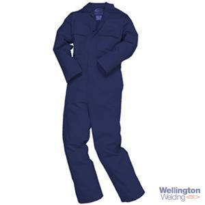 Bizweld Flame Retardant Coverall Navy XL