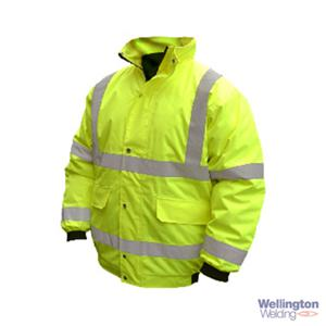 High Vis Bomber Jacket Medium