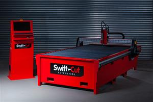 Swift-Cut 2500 Mk3 CNC Plasma Cutting Water Table