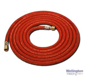 Goodyear Hose Fitted 6.3mm X 5m Propane 3/8