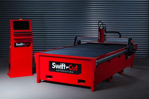 Swift Cut 3000 Mk3 Cnc Plasma Cutting Table Down Draft