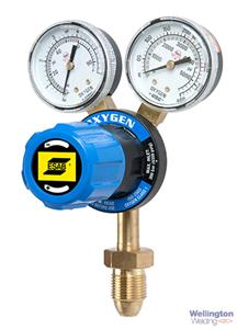 Esab G250 Single Stage Regulator 0-10 Bar Oxygen 2 Gauges