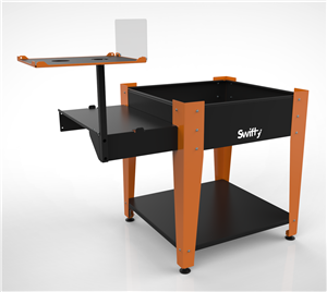Swifty CNC Stand with Side Supports