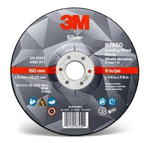 3M Silver Grinding Disc T27 115x7mm